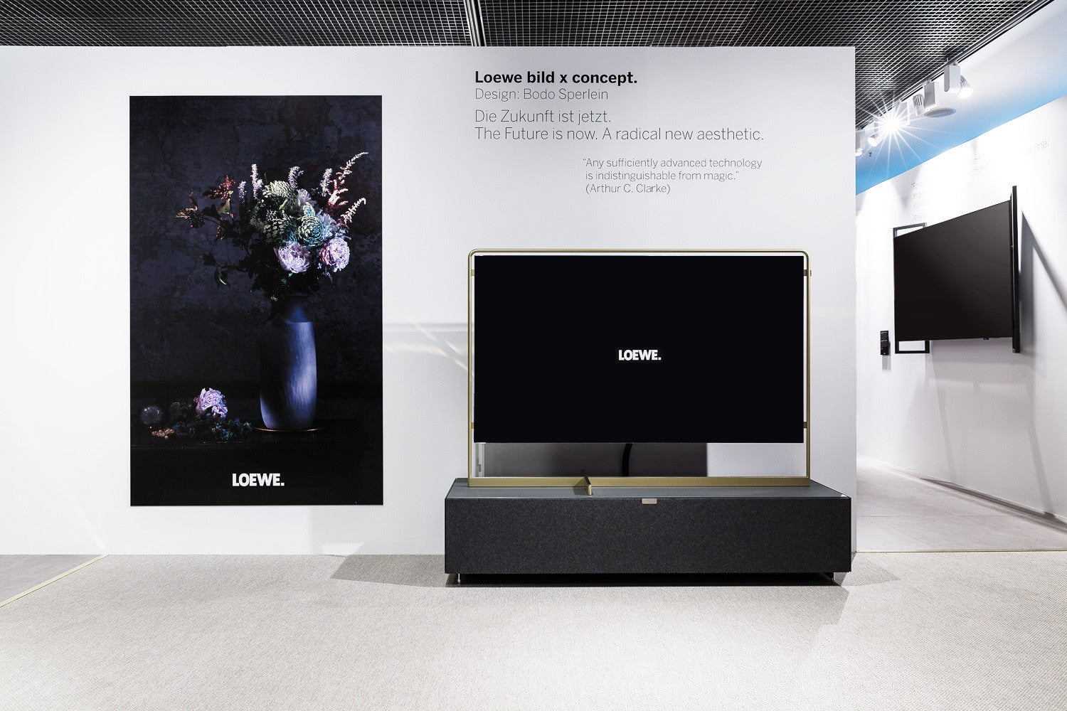 Loewe Technologies IFA 2018 Stand Art & Brand Direction
