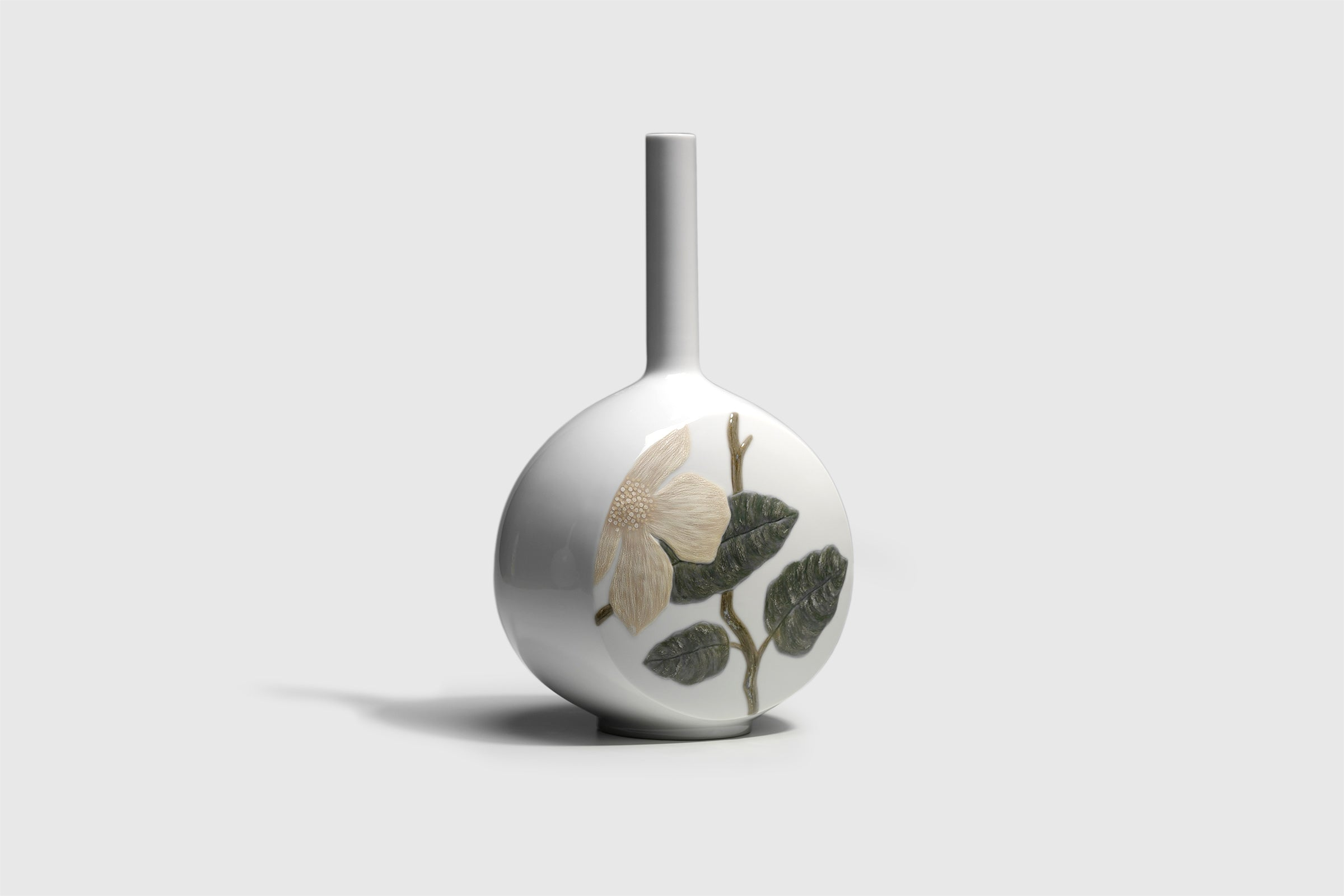 Lladro Canvas Vase Designed by London Based Studio Bodo Sperlein