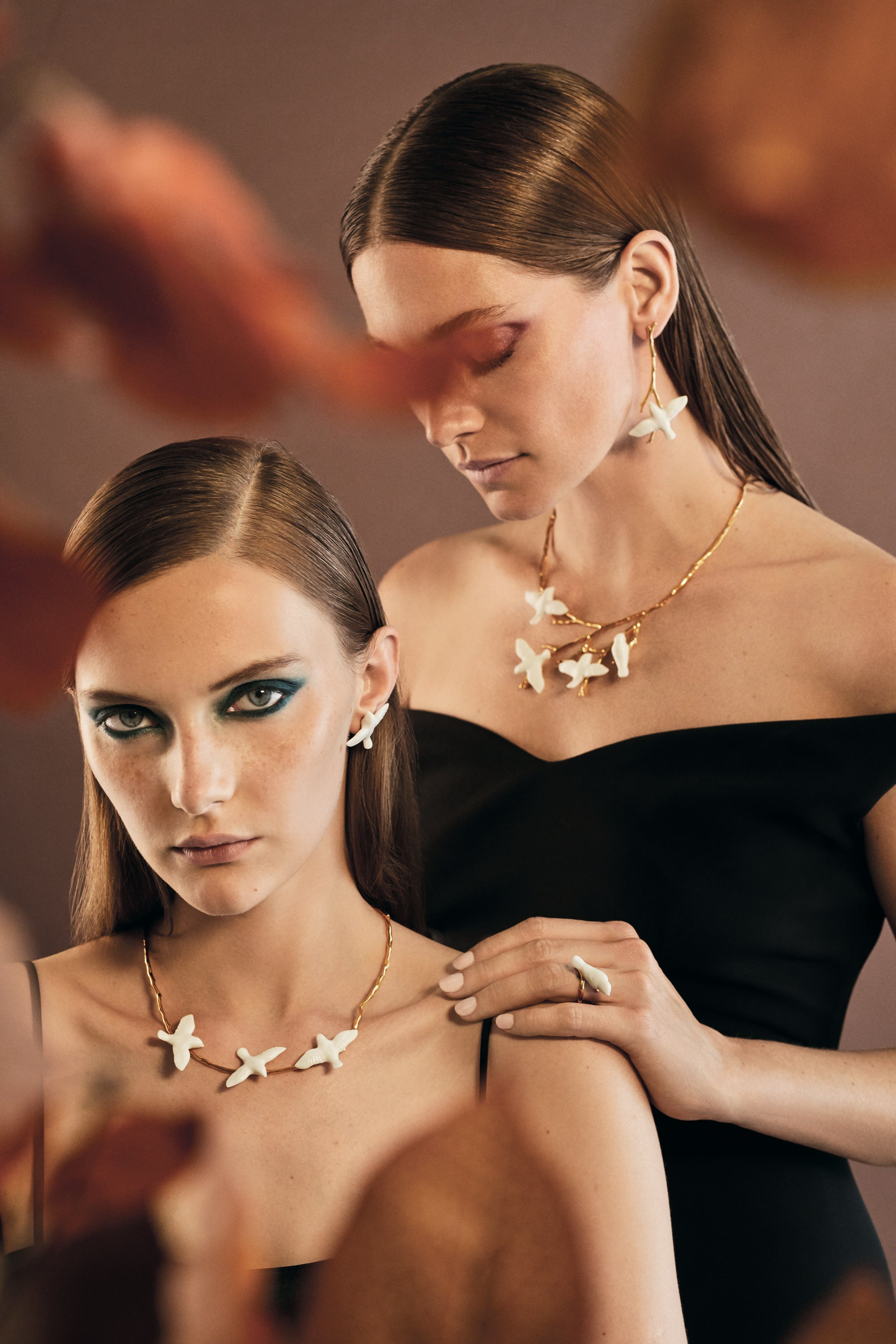 Lladro Magic Forest Jewellery Designed by London based Creative Agency Bodo Sperlein