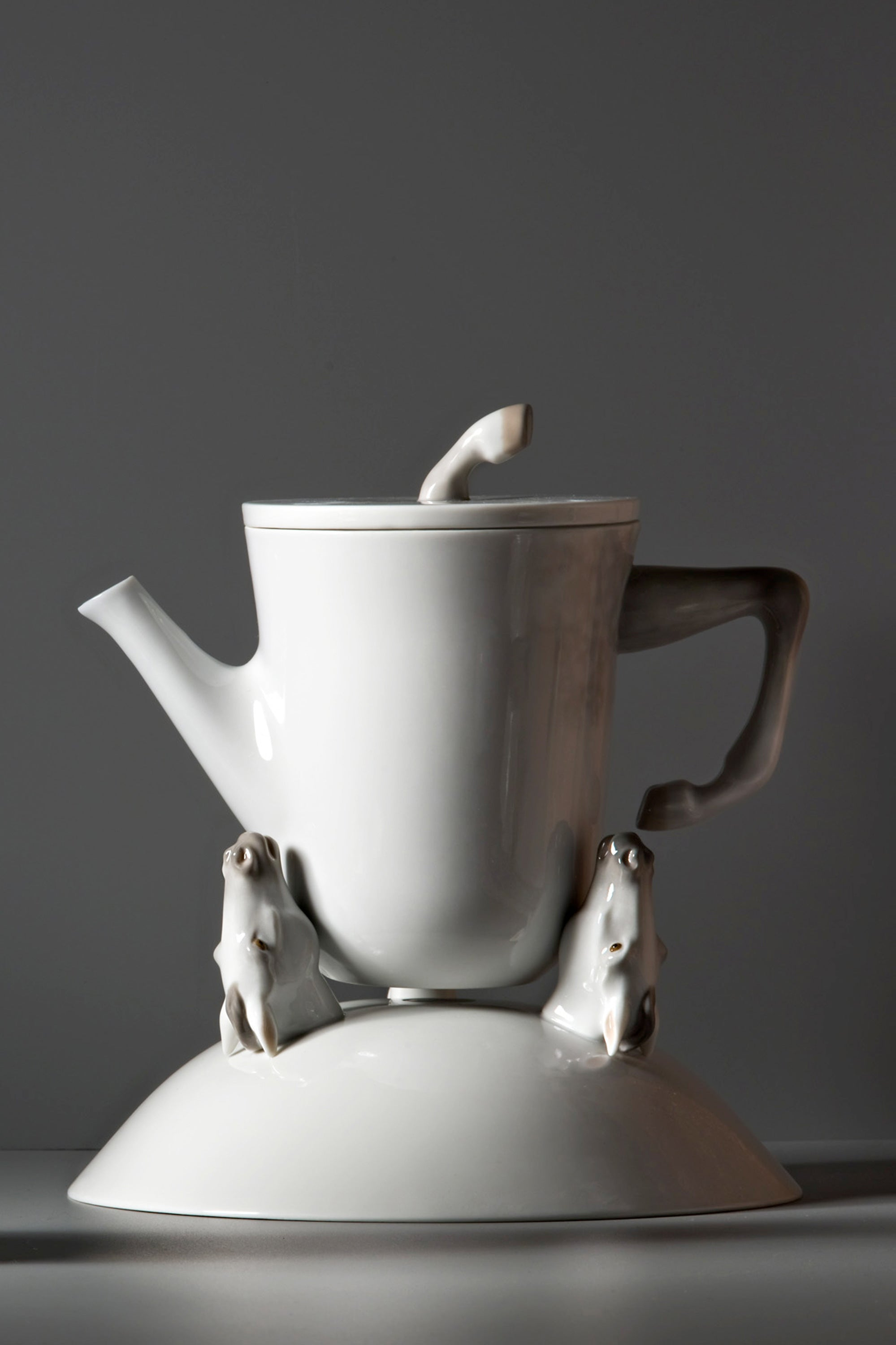 Lladro Equus Teapot & Bowl Designed by London Based Studio Bodo Sperlein
