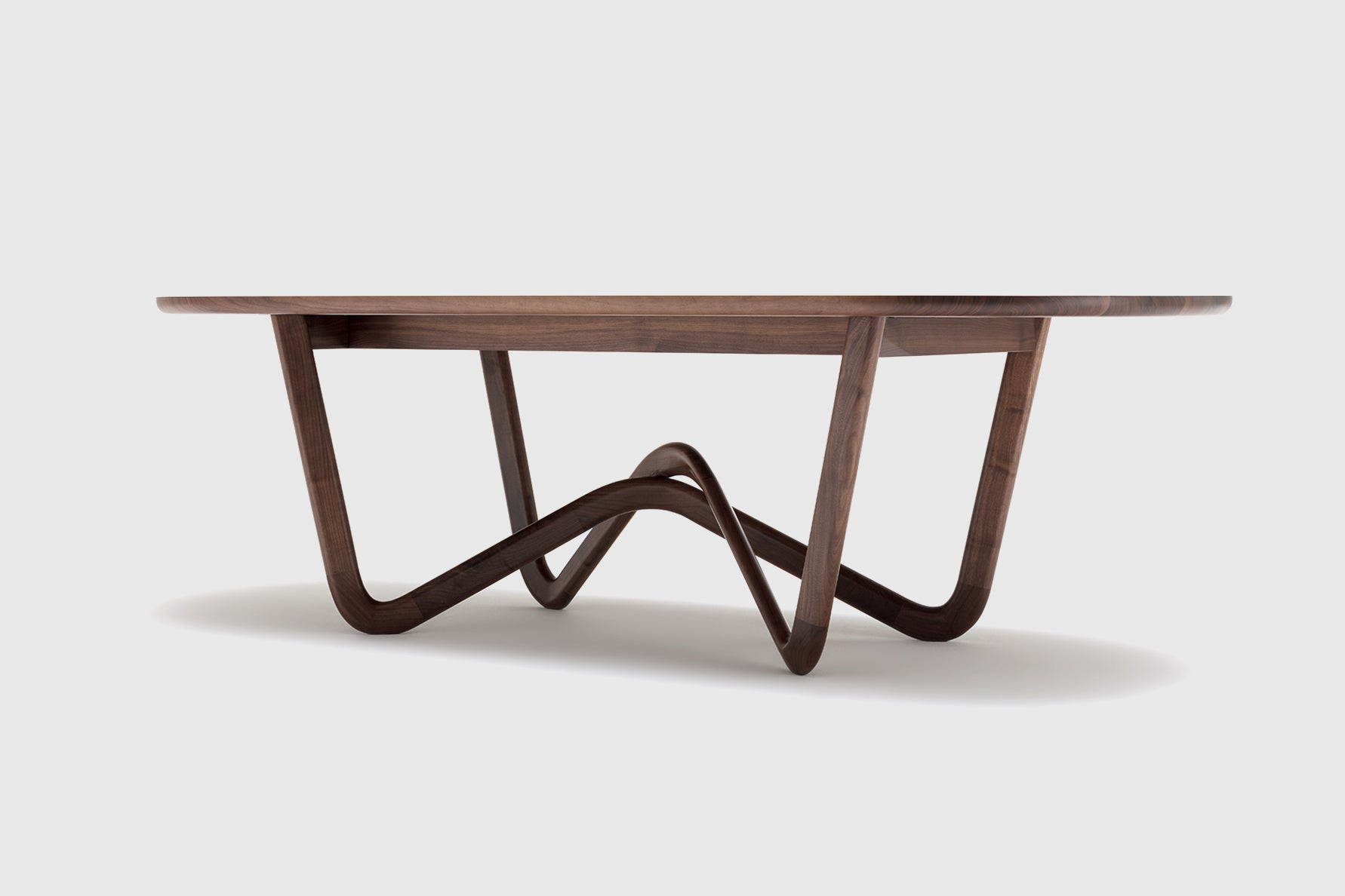 Bodo Sperlein Rolf Benz Walnut Table 988