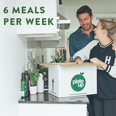 Weekly Meal Box | 6 Meals