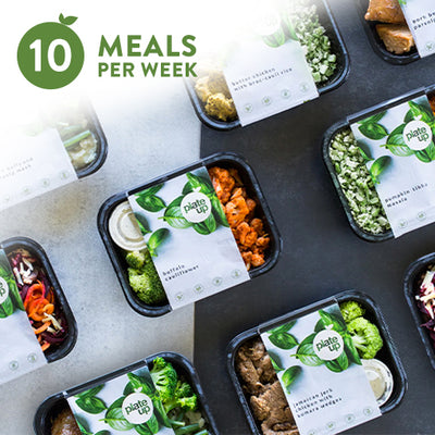 PLATE UP Weekly Meal Box | 10 Meals
