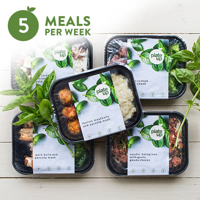 PLATE UP Weekly Meal Box | 5 Meals