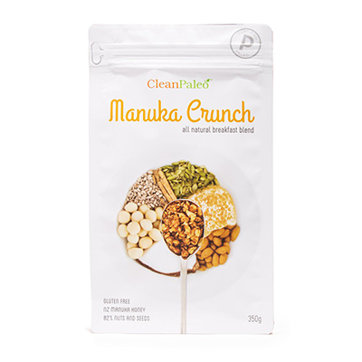 Clean Paleo Cereal - Manuka Crunch