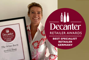 The WineBarn Wins 'Best German Specialist' at the Decanter Retailer Awards 2020