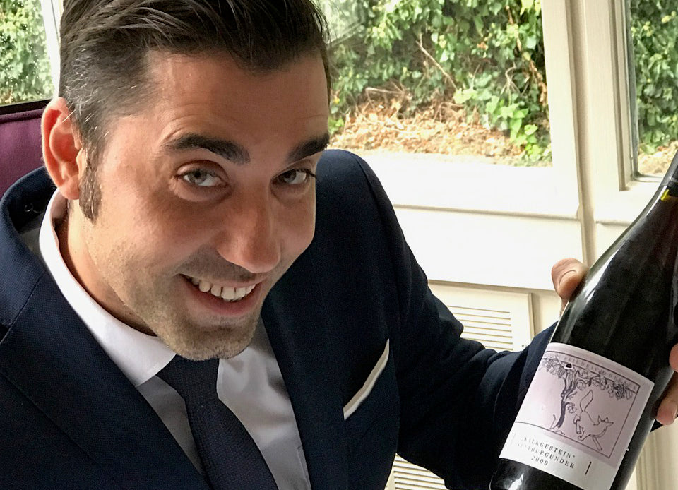 Sommelier Spotlight: Lucian Obreja from the L'Ortolan in Reading