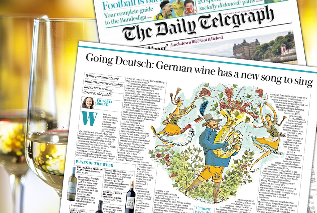 Iris Ellmann and Victoria Moore, The Telegraph's Wine Correspondent, Discuss the Changing Perception of German Wine