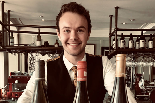 Alex Dilley Assistant Head Sommelier at Lime Wood Hotel