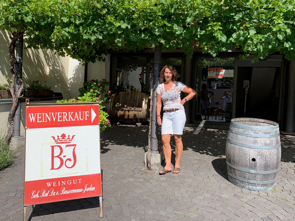 Claudia Ellmann at Dr Bassermann-Jordan winery
