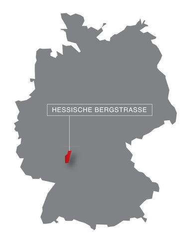 Germany, map, wine region,