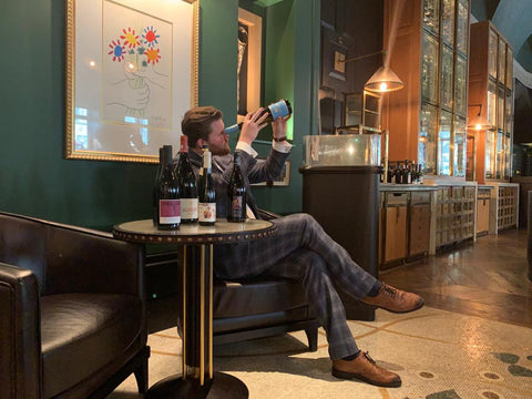 Oliver Espersen Head Sommelier at Kerridge's Bar & Grill, The Corinthia Hotel
