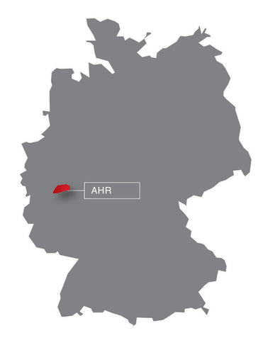 Germany, map, AHR, wine region