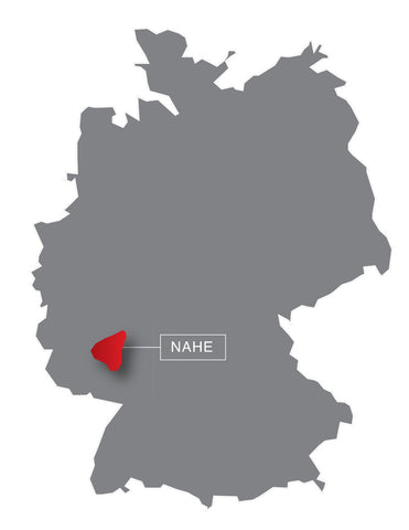 Germany, map, wine region, wine, new, nahe