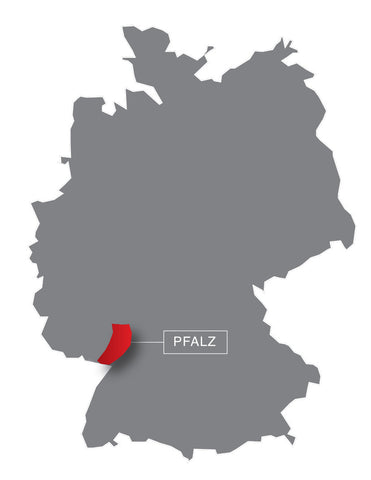 Pfalz, Germany, map, regions, wine regions, wine