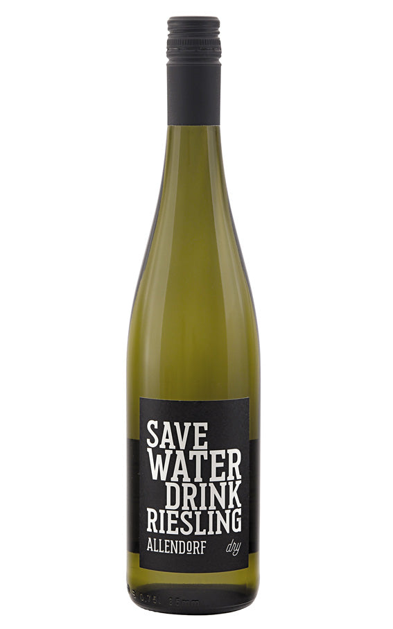 Allendorf 2019 Save Water Drink Riesling dry white wine