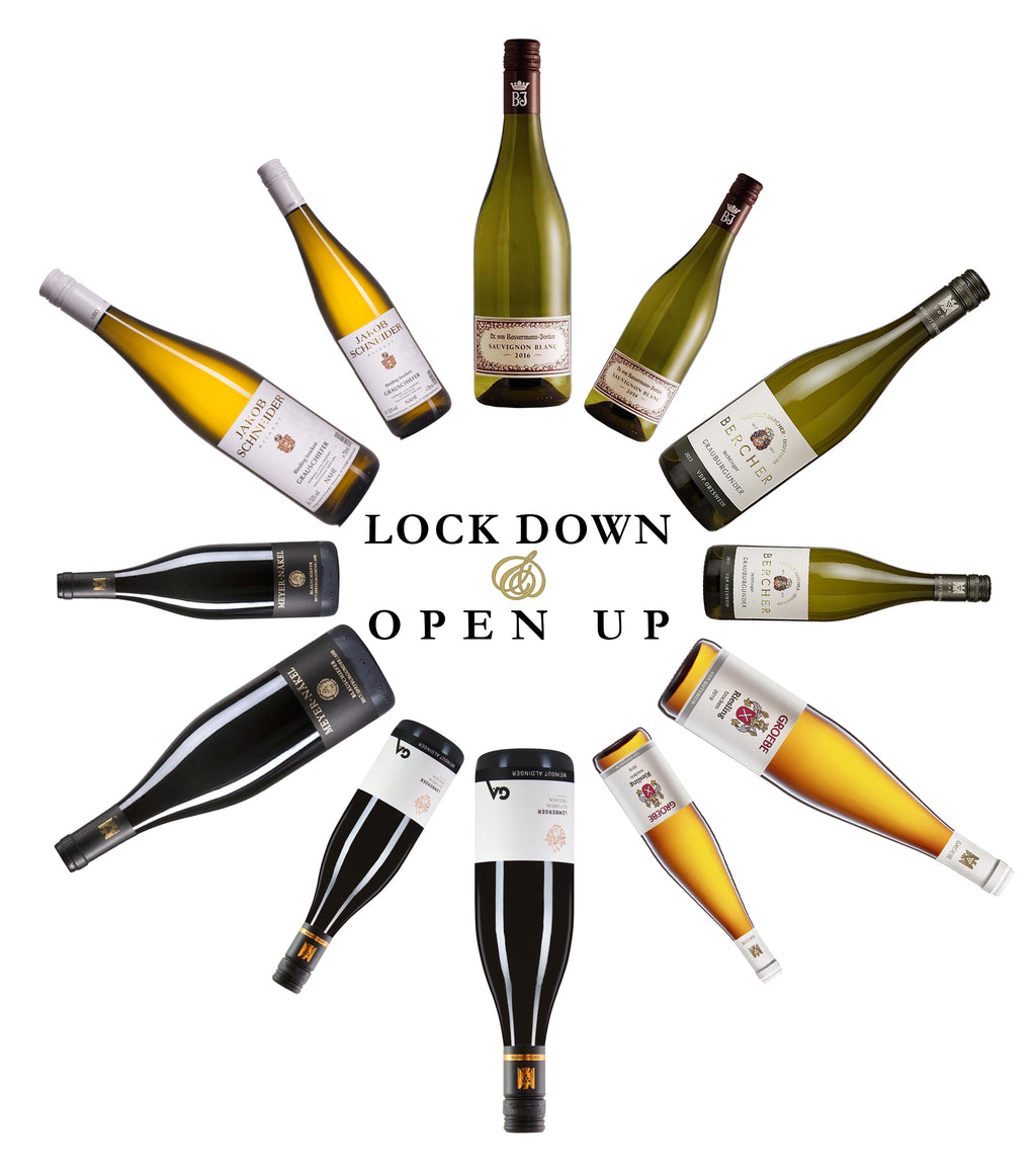 Lock Down Open Up - 12 Bottle Wine Case