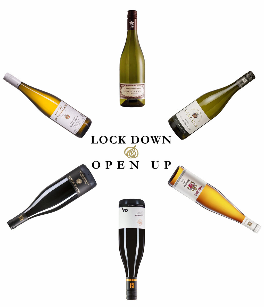 Lock Down Open Up - 6 Bottle Wine Case