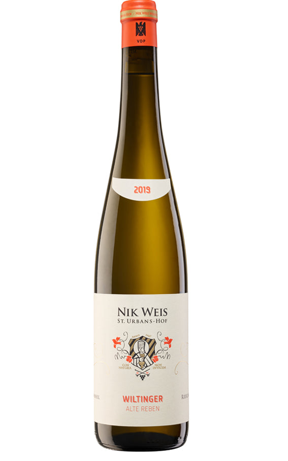 St. Urbans-Hof 2019 Wiltinger Riesling Alte Reben Old Vines off-dry white wine