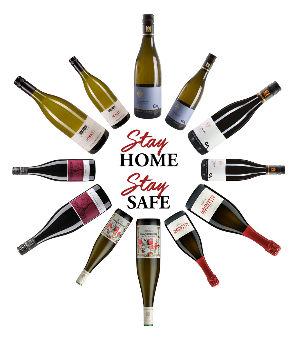 Stay Home Stay Safe - 12 Bottle Wine Case