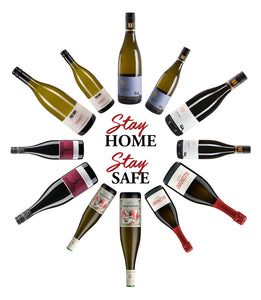 Stay Home Stay Safe Wine Case