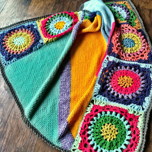 Good Vibes Crochet Blanket Pattern