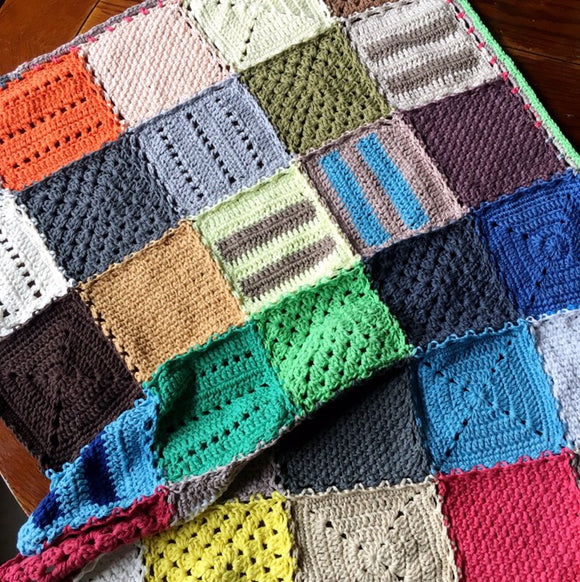 Unbothered Crochet Blanket Pattern