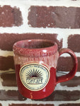 Camper Mug-Red w/ White (HOLIDAY)