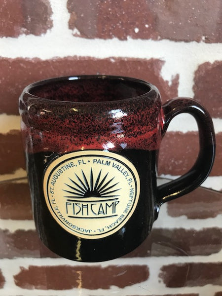 Camper Mug-Black w/ Red (HOLIDAY)