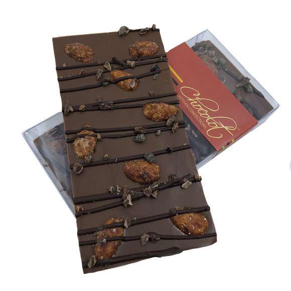 Almond Artisan Chocolate Bar