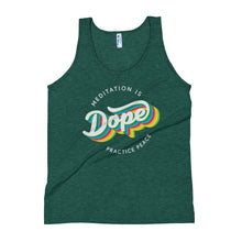 Meditation is Dope Practice PEACE 🌈 Tank Top UNISEX