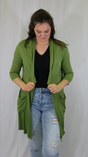 Emma's Closet Open-Front Cardigan With Pockets