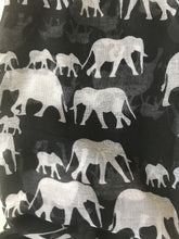 Elephant Print Scarf (See More Colours)