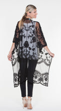 Cielo Blu Long Lace Duster (See More Colours)