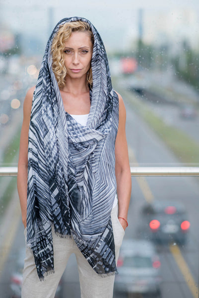 URBAN JUNGLE SCARF