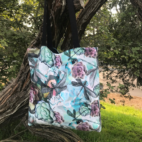 DRAGONFLY DANCE TOTE