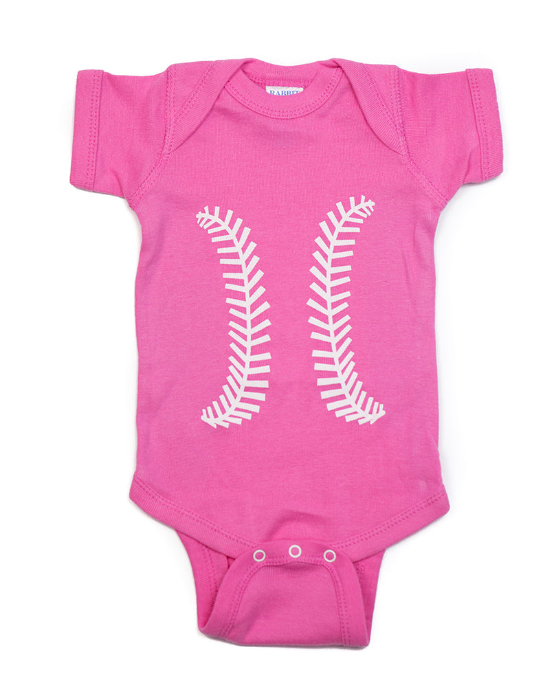 Baseball Pink & White Outfit
