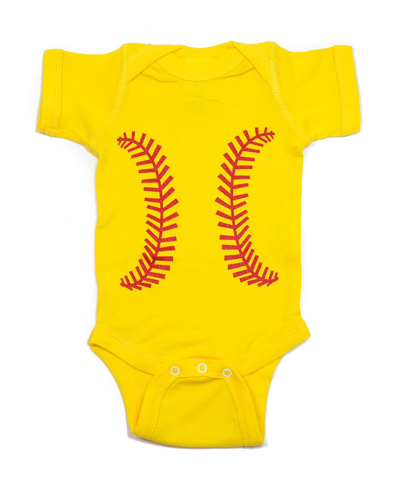 Baseball Yellow & Red Outfit