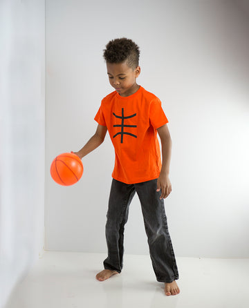 Basketball Long Sleeve Shirt by Bambino Sport