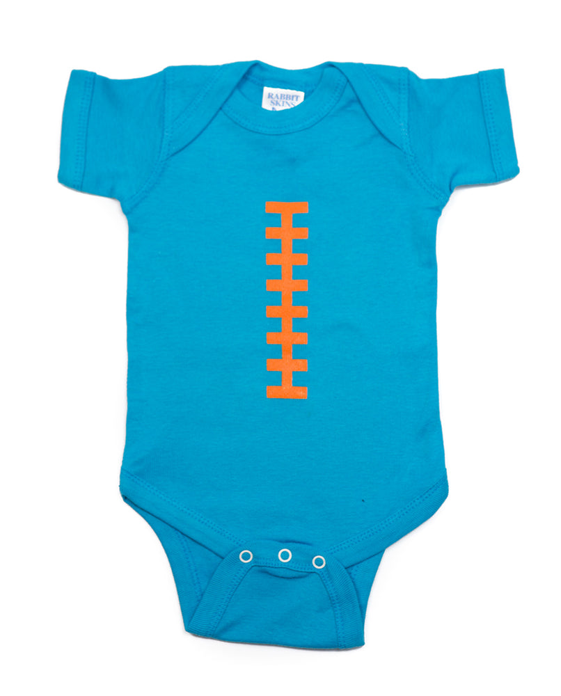 Football Blue & Orange Outfit