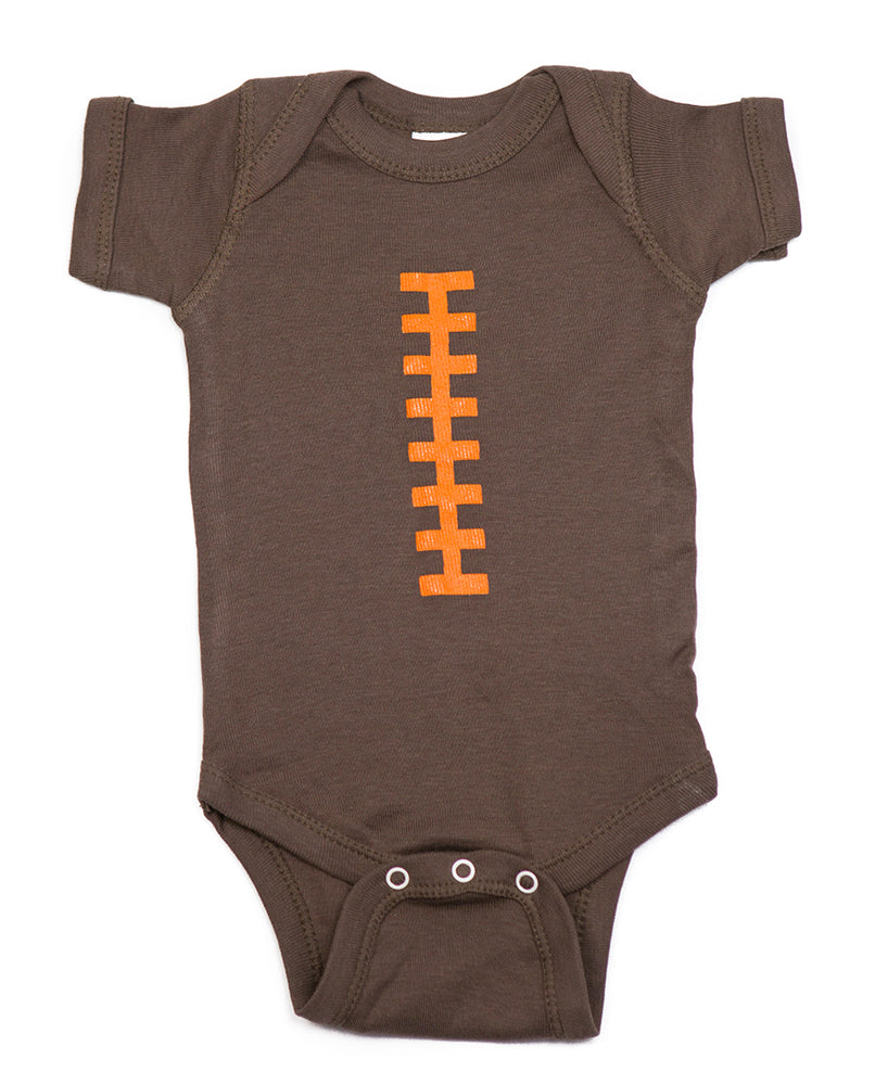 Football Brown and Orange Outfit