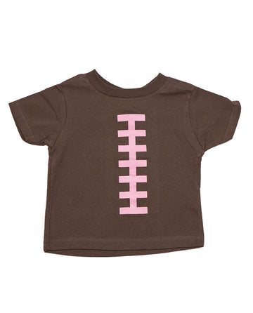 Football Brown & Pink Shirt