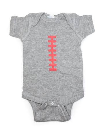 Football Grey & Pink Outfit