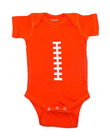 Football Orange and White Outfit