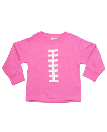 Football Long Sleeve Pink & White by Bambino Sport