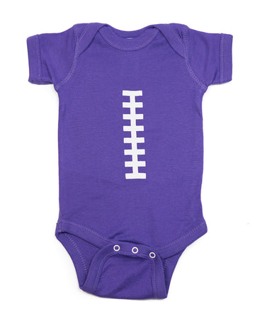 Football Purple & White Outfit