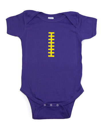 Football Purple & Yellow Outfit