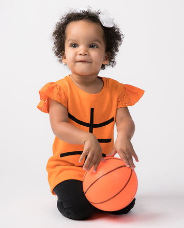 Basketball Eyelet Sleeve Shirt (PRE-ORDER) by Bambino Sport