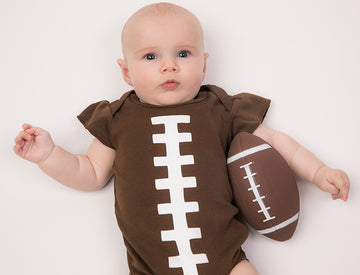 Football Ruffle Sleeve Outfit (PRE-ORDER) by Bambino Sport