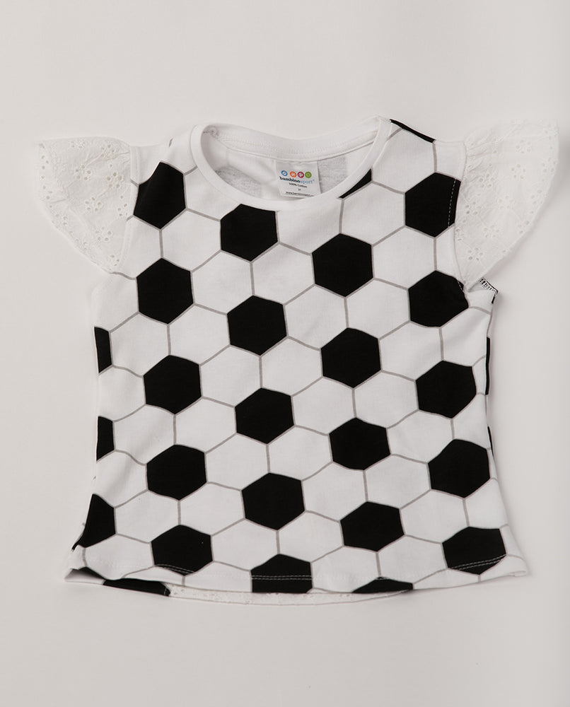 Soccer Eyelet Sleeve Shirt (PRE-ORDER) by Bambino Sport